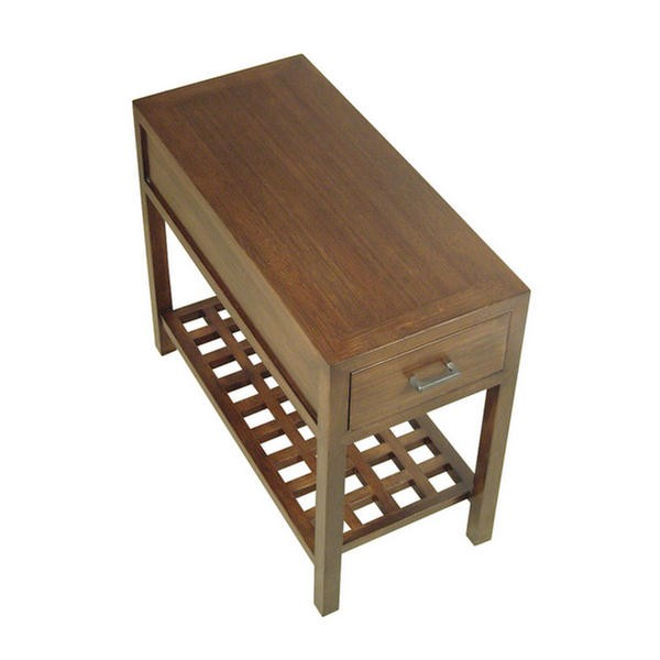 "14"" Bamboo End Table"