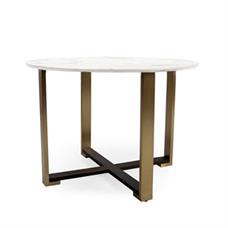 """Kent 42"""" Round Sintered Marble Table"""