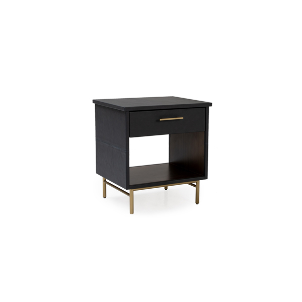 Munro Leather Nightstand