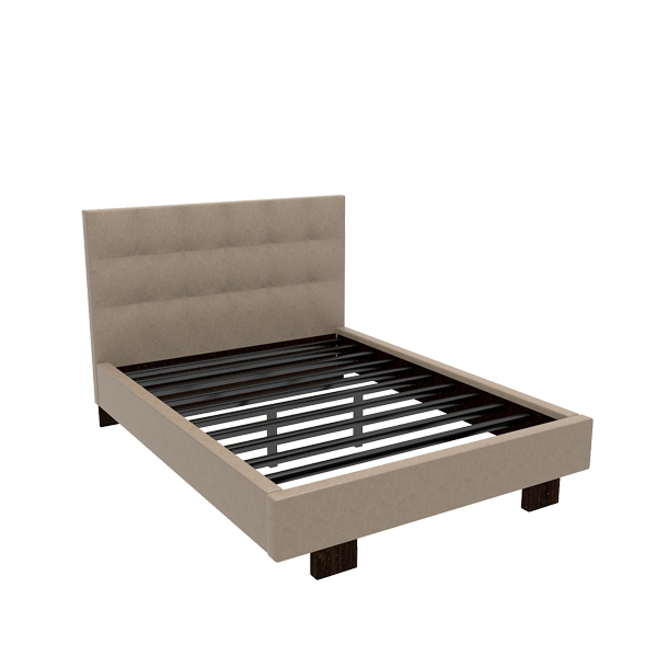 Taylor Cal King Leather Bed