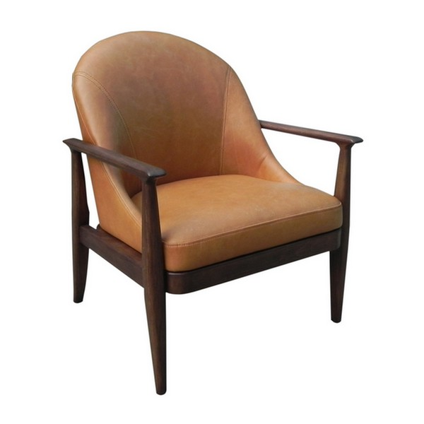 Elena Leather Lounge Chair