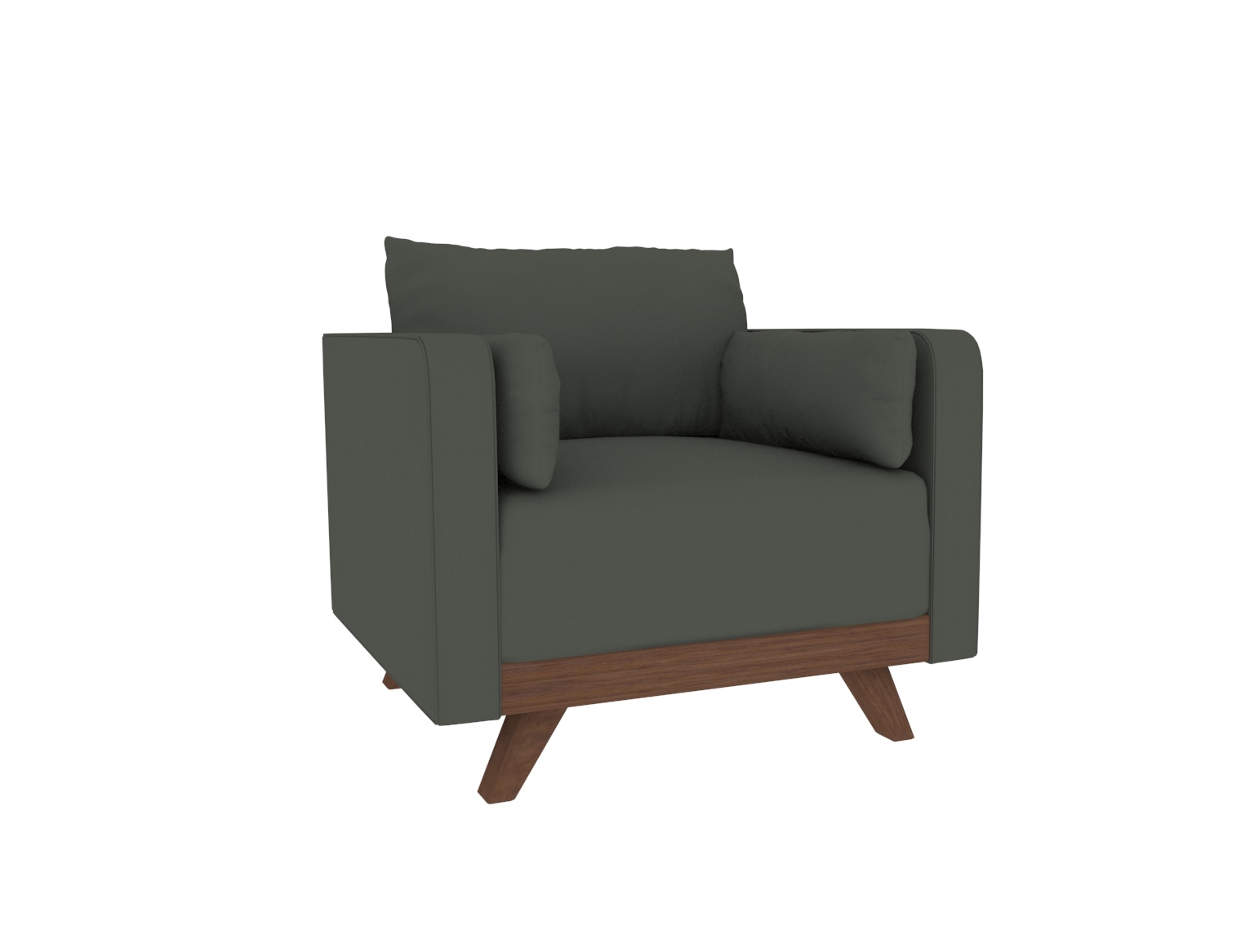 """35"""" Leather Chair"""