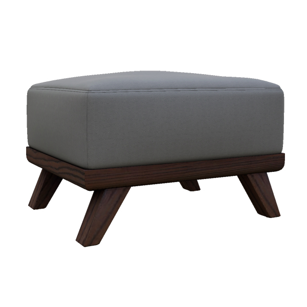 "Merced 26"" Leather Ottoman"