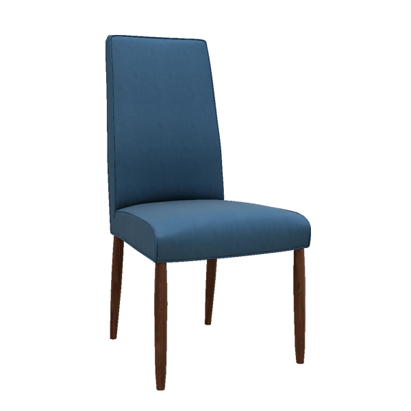 Shasta Modern Leather Side Chair