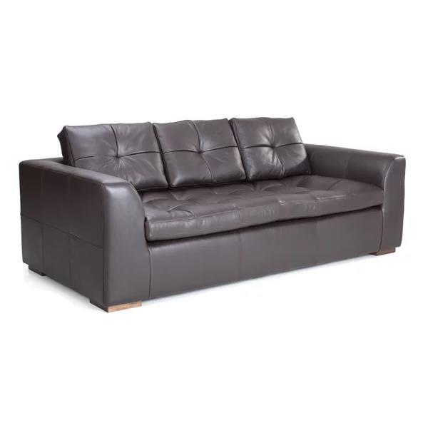 "Henri 82"" Leather Sofa"