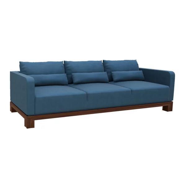 "Aptos 95"" Leather Sofa"