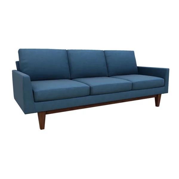 "Ingrid 82"" Leather Sofa"