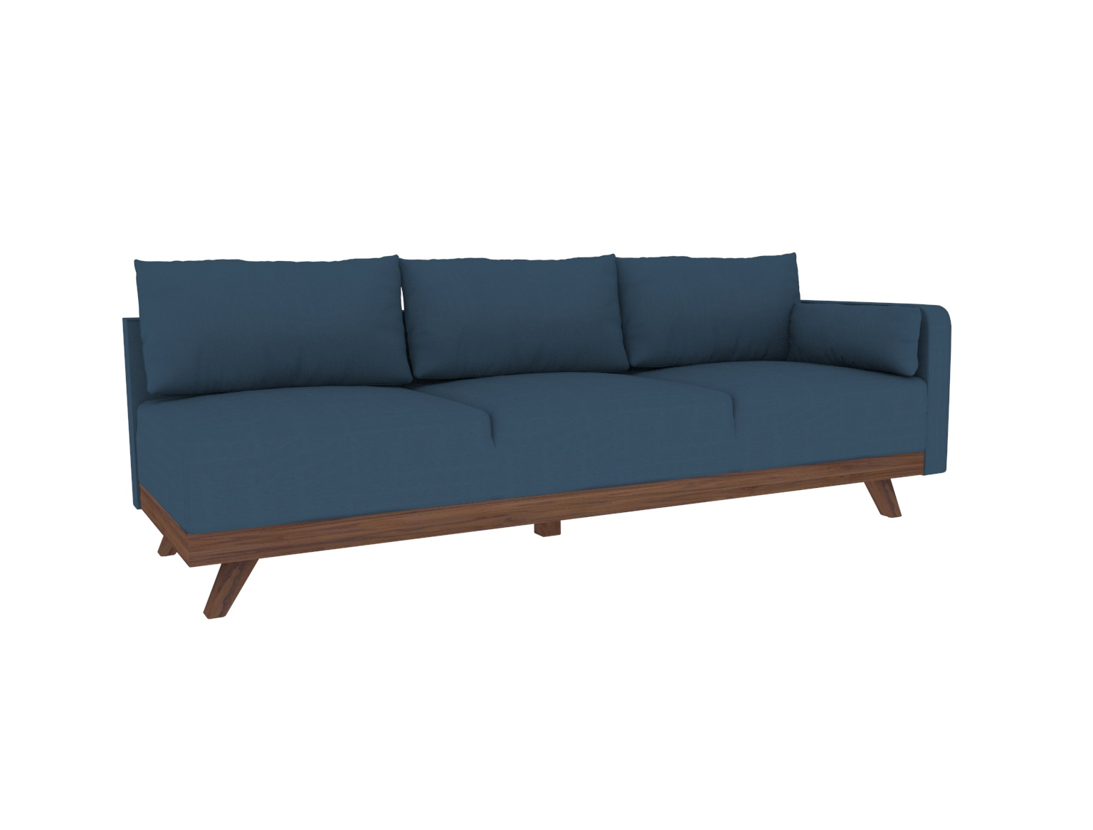 """93"""" Leather Right Arm Sofa"""
