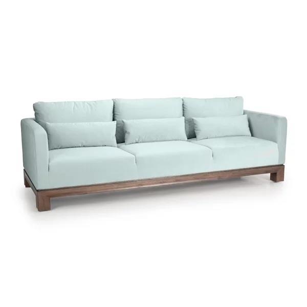 """Aptos 95"""" Fabric Sofa"""