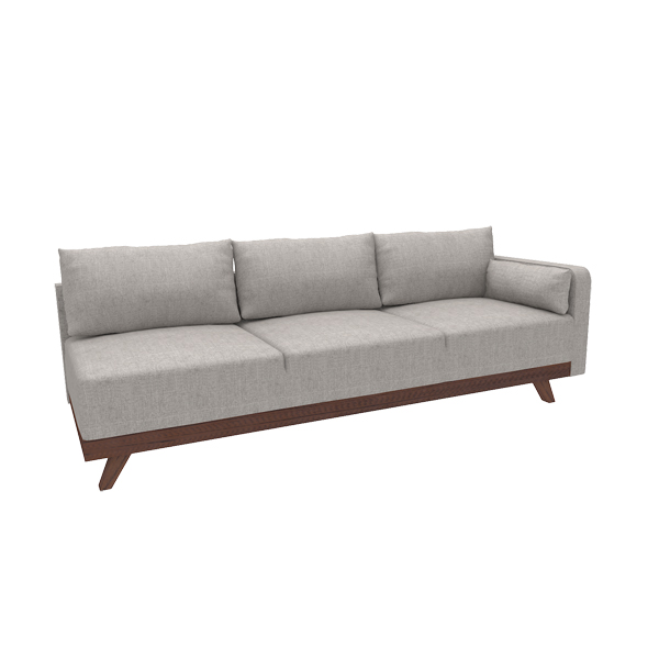 "93"" Right Arm Sofa"